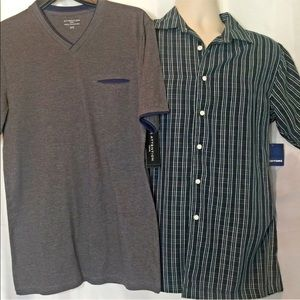 Men's shirts 2 Pc size Small Summer